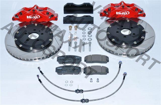 V-MAXX Big Brake Kit (330mm) Chevrolet Cruze (J300/J305/J308) nur 5x105 Modelle ab 74KW bis 120KW inkl. Stahlfexschläuchen