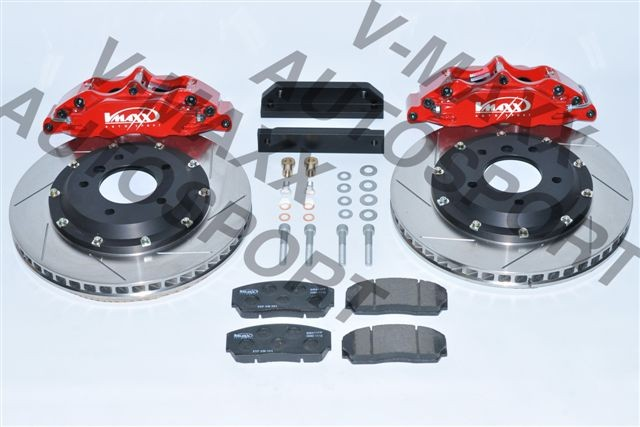 V-MAXX Big Brake Kit (330mm) BMW 3 (E46) Cabrio alle incl. M-technic / excl.M3