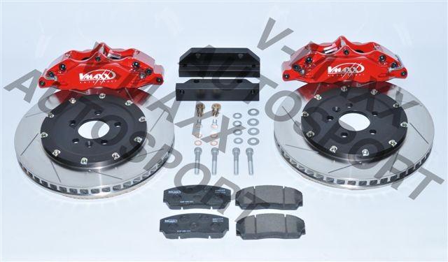 V-MAXX Big Brake Kit (330mm) Seat Exeo ST (Stationw.) Alle bis 155 KW & 2200 Mzgg