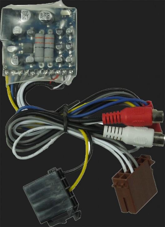 Audio System High-Low Adapter aktiv HLC2 PLUS für OEM Radios