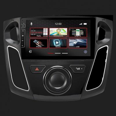 "DYNAVIN 9""(22,9cm) Multimediagerät ""X-Series"" für Ford Focus 2010-2018 inkl. i-GO Navisoftware"