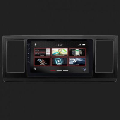 "DYNAVIN 9""(22,8cm) Multimediagerät ""X-Series"" für VW T6 inkl. i-GO TRUCK Navi & DAB+"