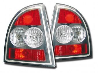 FK Design Rückleuchten VW Passat Limousine (Typ 3BG) Bj. 01-04, chrom