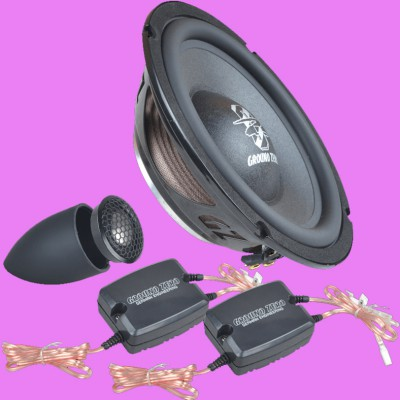 "GROUND ZERO RADIOACTIVE ""GZRC 165NEO-IV"" 165 mm 2-Wege Komponenten-Lautsprechersystem FLAT"