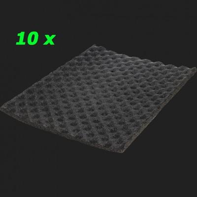 """GROUND ZERO """"GZDF 1500SA-PRO"""" 15 mm Wasserabweisende Dämmung aus geschäumtem Polyurethan (10 Platten a 37,5cm x 50cm = 1,875qm²)"""