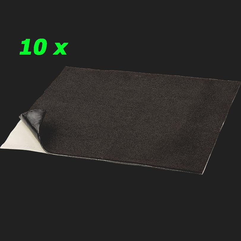 """GROUND ZERO """"GZDM 1900MC-GOLD"""" 7mm Hochwertige Multikomponenten-Dämmung (10 Platten a 37,5cm x 50cm = 1,875qm²)"""