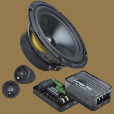 "GROUND ZERO RADIOACTIVE ""GZRC 165.2SQ-IV"" 165 mm 2-Wege SQ Komponenten-Lautsprechersystem"