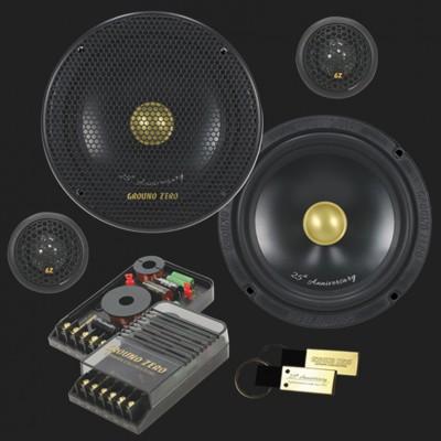 """GROUND ZERO RADIOACTIVE """"GZRC 165 Anniversary-25"""" 165 mm 2-Wege SQ Komponenten-Lautsprechersystem"""