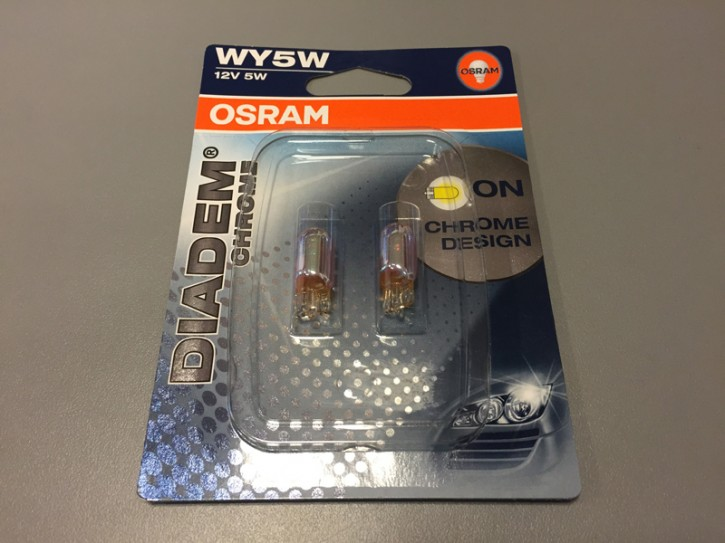 OSRAM DIADEM CHROME WY5W orange (2 Stück)