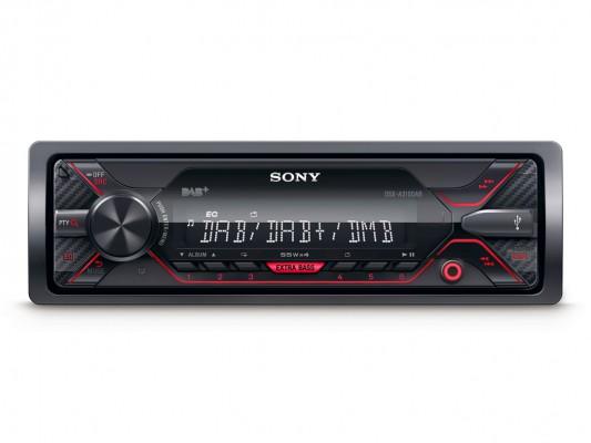 """SONY 1-DIN Autoradio """"DSX-A310DAB"""" inkl. BT, DAB+ OHNE CD Laufwerk/DAB Antenne"""