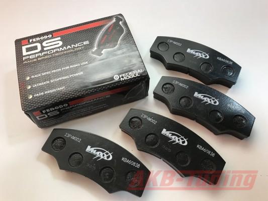 Ferodo Rennsport Bremsbeläge passend für alle V-MAXX Big Brake Kits 290mm