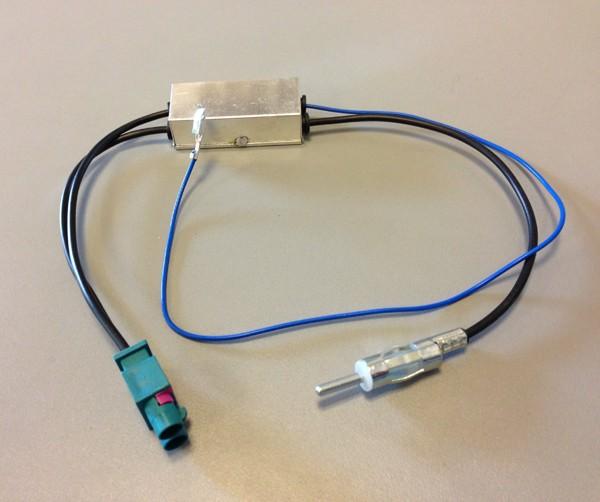 ACV DIN-Antennenadapter Doppel-Fakra (Z) mit Phantomeinspeisung und Diversity