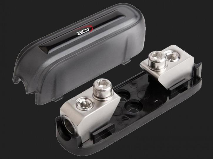 ACV Mini-ANL Sicherungshalter 1 x 10 - 20mm² Eingang (silber)