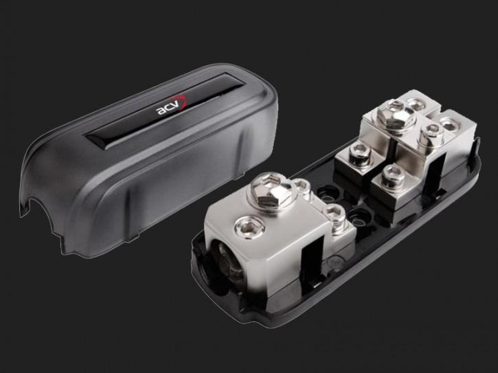 ACV ANL / Mini-ANL Sicherungsverteilerblock 1 x 35 - 50 mm² Eingang (silber)