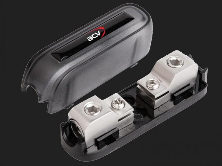 ACV ANL Sicherungshalter 1 x 10 - 20mm² Eingang (silber)