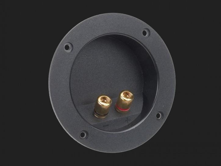 ACV Lautsprecherterminal 2-polig rund Durchmesser 105mm