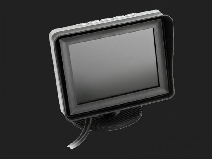 "ACV 3,5"" (8,9cm) Monitor (12V) universal 4:3 (1 RFK + 2 AV Eingänge)"