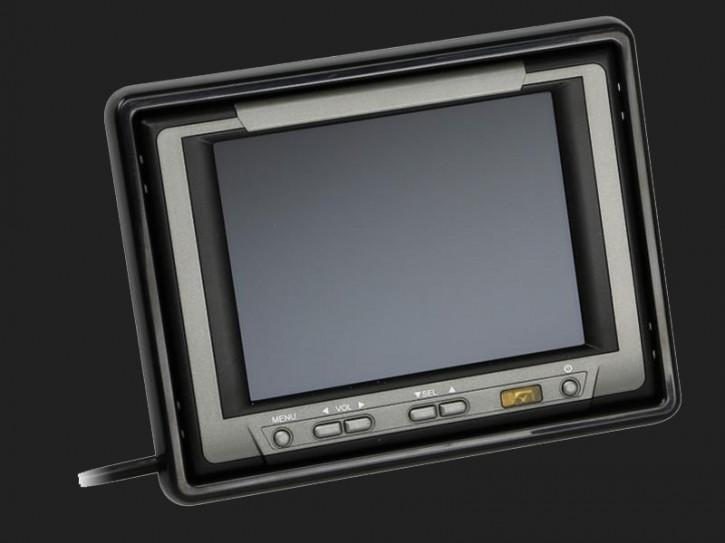 "ACV 5"" (12,7cm) Monitor (12V) universal 4:3 (1 RFK + 2 AV Eingänge)"