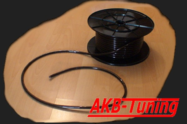 c-quence Stromkabel 20mm² Meterware in schwarz