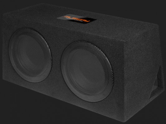 "MUSWAY ""MR206Q"" DUAL-BASSREFLEX-SYSTEM MIT ZWEI 16,5CM(6.5"") SUBWOOFERN Max.Power 600Watt"
