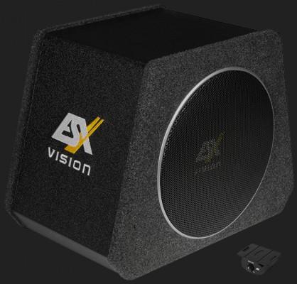 "ESX VISION ""V800A"" 20 cm(8"") AKTIV-SUBWOOFER-SYSTEM Max. Power 400Watt"