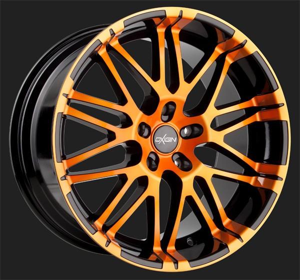 "Alufelge Oxigin 14 Oxrock in 8,5 X 20"" orange polish (5-Loch)"