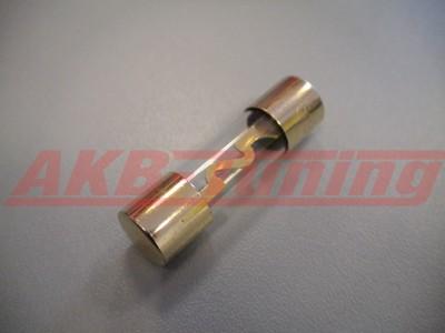 Alfatec AGU Glassicherung 60 Ampere lose unverpackt vergoldet