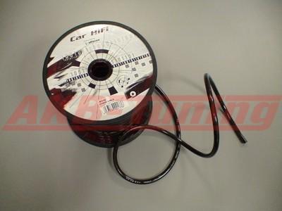 Alfatec Stromkabel OFC 20mm² Meterware in schwarz