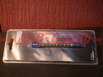 Alfatec Mini LED Stab in blau 10cm lang inkl. Starter 12V (Restposten)