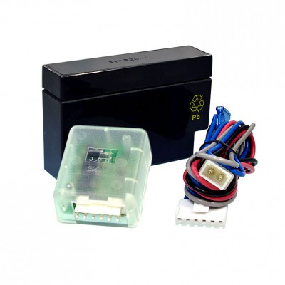 AMPIRE Notstromversorgung mit Alarmauslösung, 12 Volt, 0.7Ah
