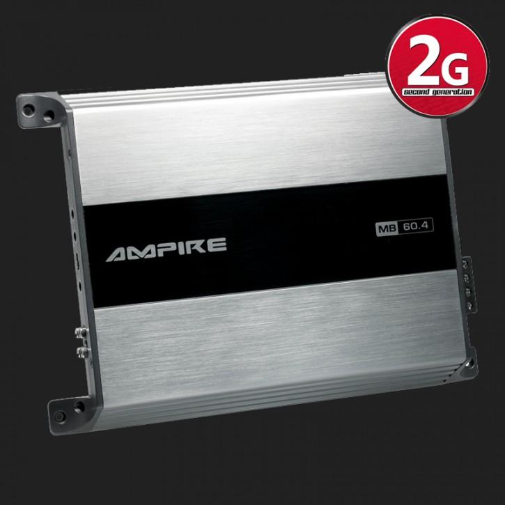 """AMPIRE Endstufe """"MB60.4-2G"""" 4x 60 Watt (2.Generation)"""