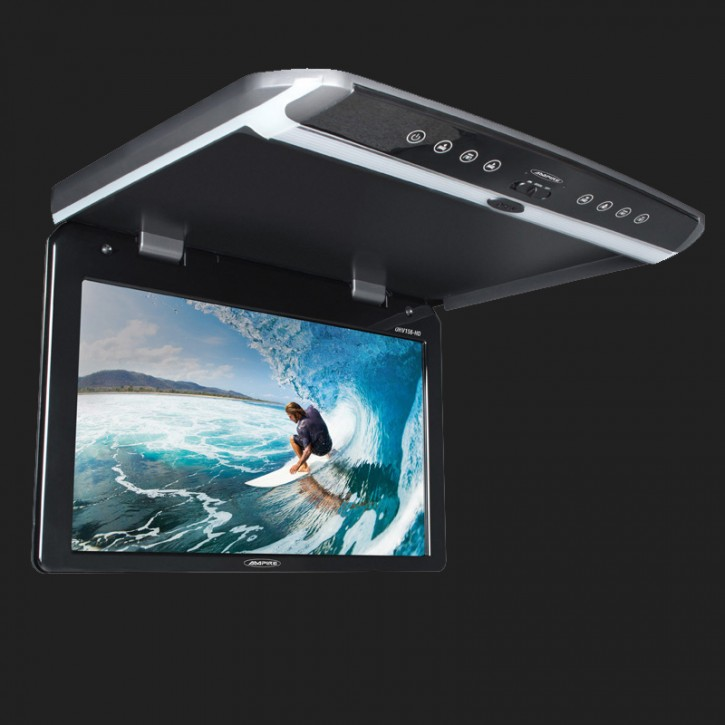 AMPIRE Full-HD Deckenmonitor 47cm (18.5'') mit mit HDMI-Eingang 12V