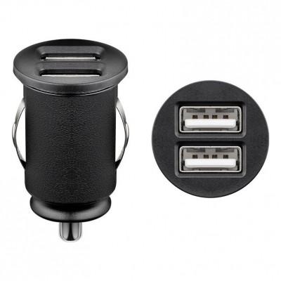 AMPIRE USB-Ladeadapter Duo 12/24V > 2x USB (max. 4.8A)