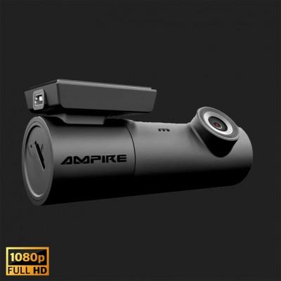 AMPIRE Dashcam in Full-HD, WiFi und GPS inkl. 16GB Micro SD