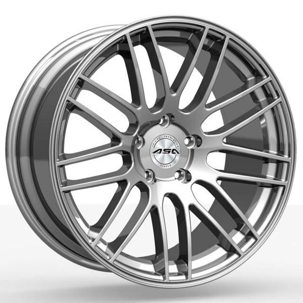"""TEC Alufelge GT1 in 8,0 X 17"""" shiny silber (4 & 5-Loch)"""