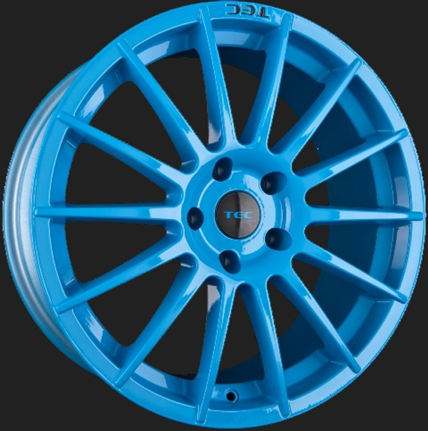 "TEC Alufelge AS2 in 8,0 X 18"" Smurf Light Blue (4 & 5-Loch)"