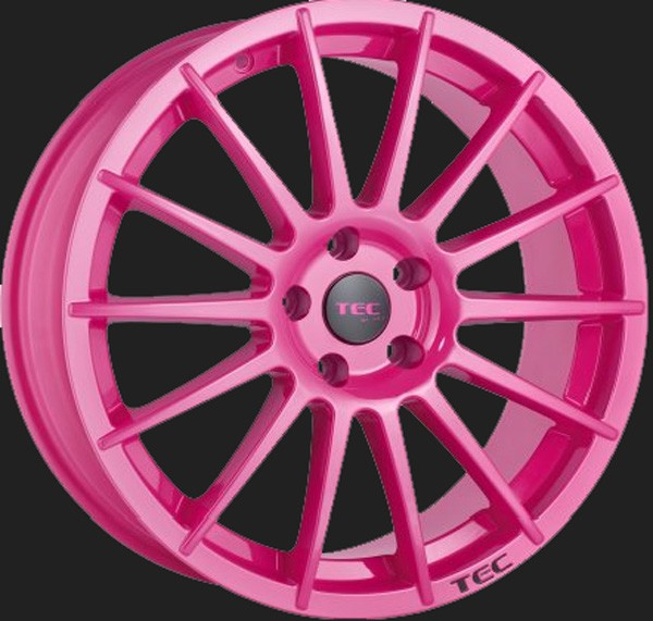 "TEC Alufelge AS2 in 8,5 X 19"" Max.-Pink (5-Loch)"