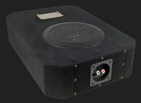 "Audio System RADION SERIES Bassreflex Gehäusesubwoofer ""R 08 FLAT EVO DBR"" (20cm) MAX.Power 275 Watt"