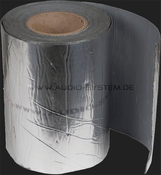 "Audio System Alu-Kautschuk Dämmmaterial ""ALU 200 EVO"" auf Rolle (0,2 m x 10m x 1,5mm)"