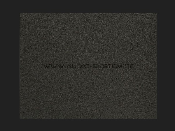 """Audio System SCHAUMSTOFF """"AS RAINSTOP"""" - Wasserabweisend (1000 x 500 mm)"""