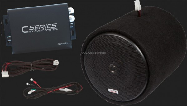 Audio System Motorroller Komplettset (CO 35.4/MXC 165 EVO/2x GI 165)