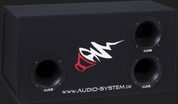 """Audio System Leergehäuse """"BP 12"""" 75 Liter Bandpass für 30cm Bass"""