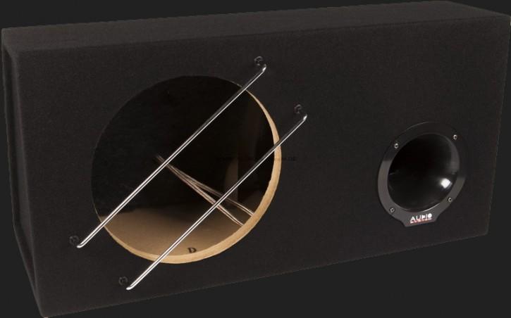 """Audio System Leergehäuse """"BR 12-48"""" 48 Liter Bassreflex für 30cm Bass"""
