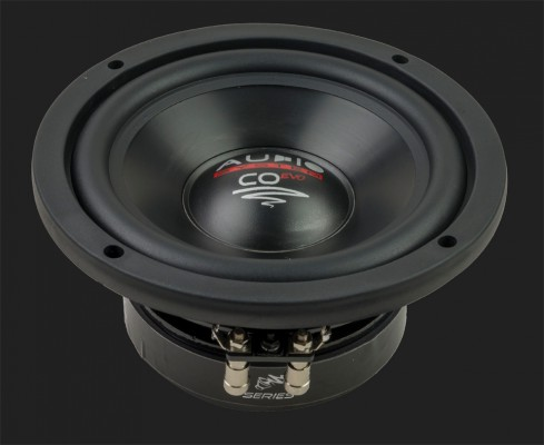 """Audio System CO-SERIES 165 mm HIGH EFFICIENT WOOFER """"CO 06 DC"""" Max.Power 2x120W"""