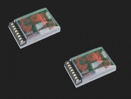 """Audio System """"FWX EVO2"""" 2-Wege Allround-Frequenzweiche (2 Stück)"""