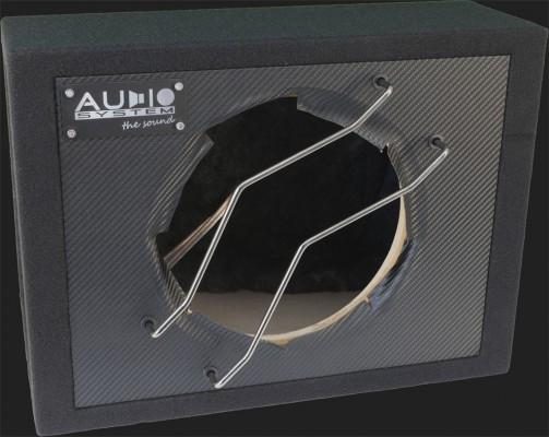 """Audio System Leergehäuse """"G 10C"""" 22 Liter geschlossen für 25cm Bass (Carbon Optik)"""