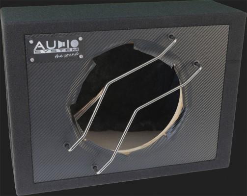 """Audio System Leergehäuse """"G 12C"""" 32 Liter geschlossen für 30cm Bass (Carbon Optik)"""