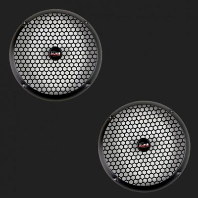 Audio System Lautsprechergitter schwarz matt 165mm (2 Stück)
