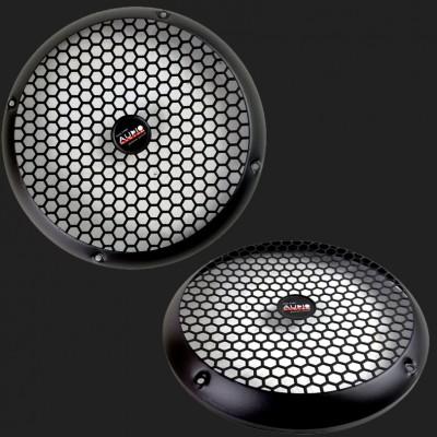 Audio System Lautsprechergitter schwarz matt 200mm (2 Stück)
