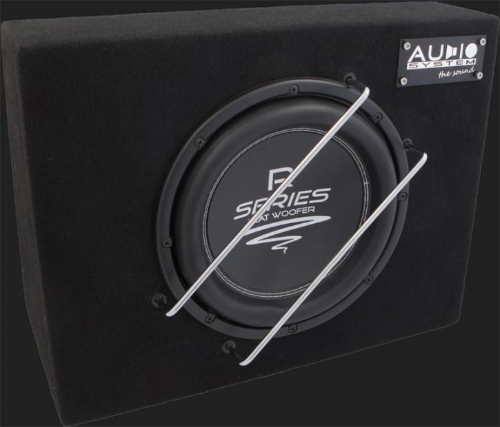 "Audio System RADION SERIES Geschlossener Gehäusesubwoofer ""R 10 FLAT G"" (25cm) MAX.Power 350 Watt"